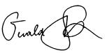 Gerald Stack signature